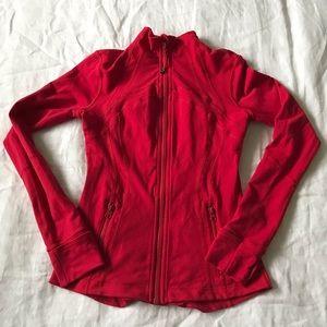 lululemon athletica // full zip vented jacket sz 6